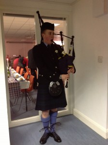 Our Burns Night Piper