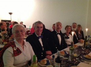 Members of Northwich & District Scots Society